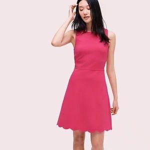 Kate Spade | Scallop Back Ponte Dress Size M